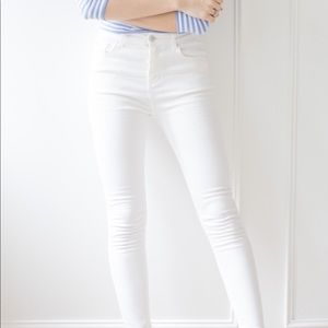 Mossimo White Skinny Jeans